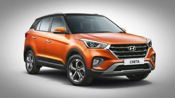 2018 Hyundai Creta Facelift passion orange colour