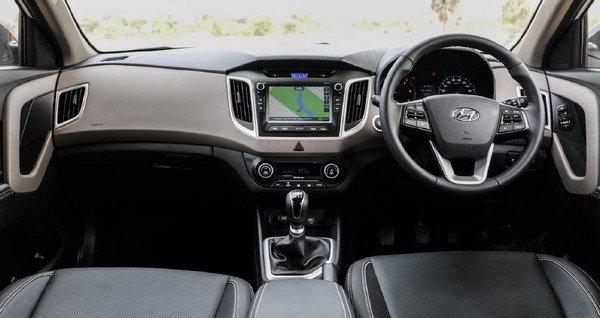 2018 Hyundai Creta facelift interior dashboard and seats