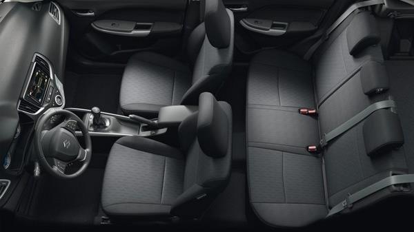 Maruti Suzuki Baleno Interior seats