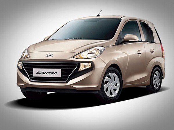 2018 Hyundai Santro front bronze color