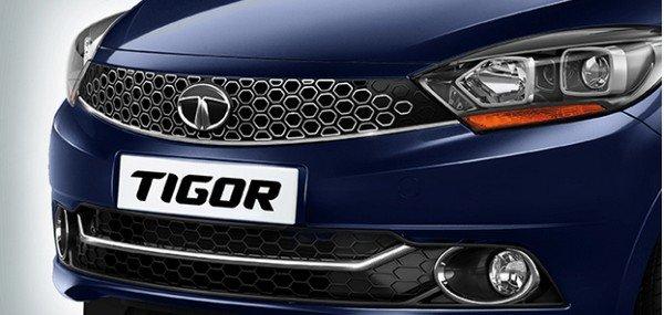 2018 Tata Tigor XZ+ dark blue colour front