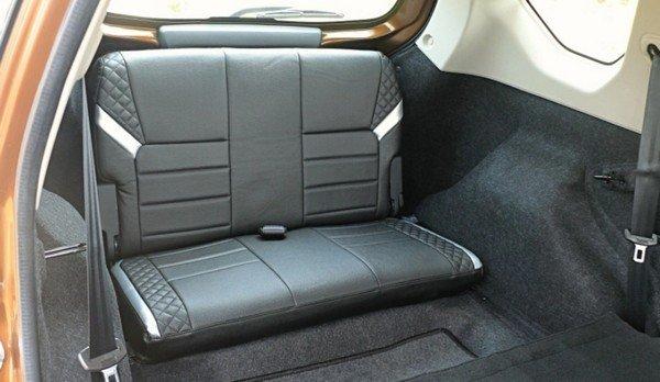 Datsun Go+ rear seat