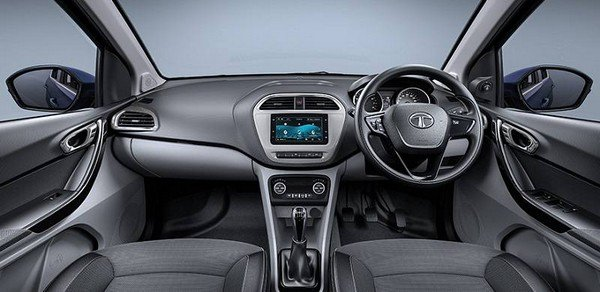2018 Tata Tigor interior dashboard
