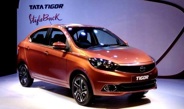 2018 Tata Tigor in the show room