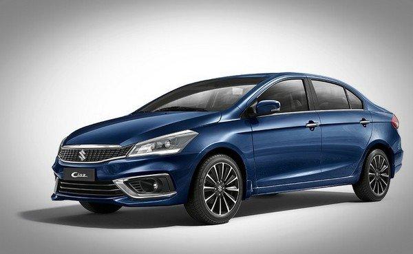 Maruti Suzuki Ciaz blue color front look