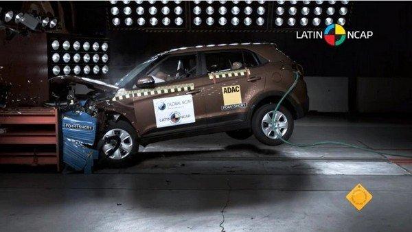 2018 Hyundai Creta, NCAP crash test