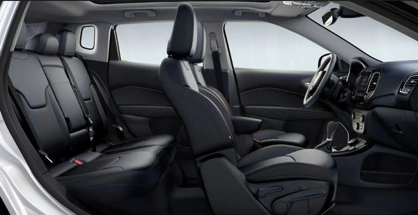 2018 Jeep Compass, Interior Look