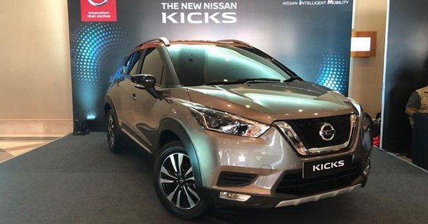 Nissan Kicks 2018 front face