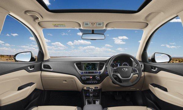 Hyundai Verna 2018, interior