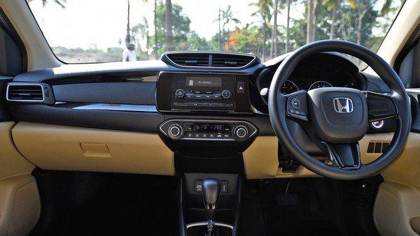 Honda Amaze interior dashboard