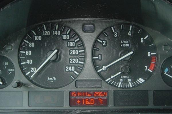 car instrument cluster
