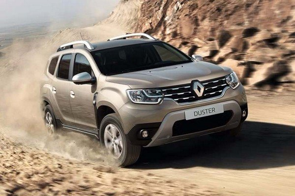 Renault Duster front look offroad