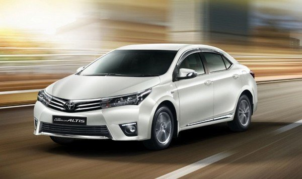 Indian-bound Corolla Altis performance