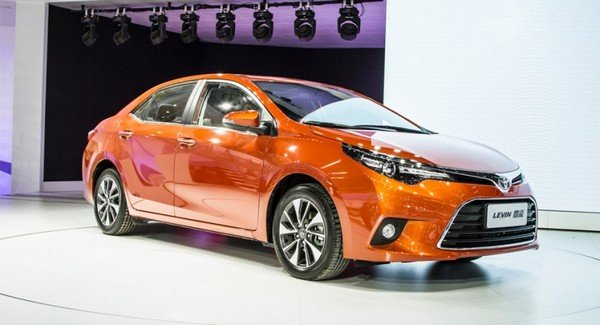 New Toyota Corolla China angular look