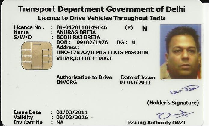 A Permanent Licence