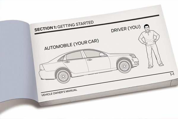 a car manual