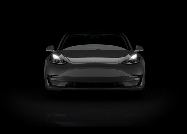 Tesla Model 3, Front angular look