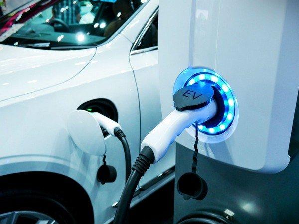 EV charging port