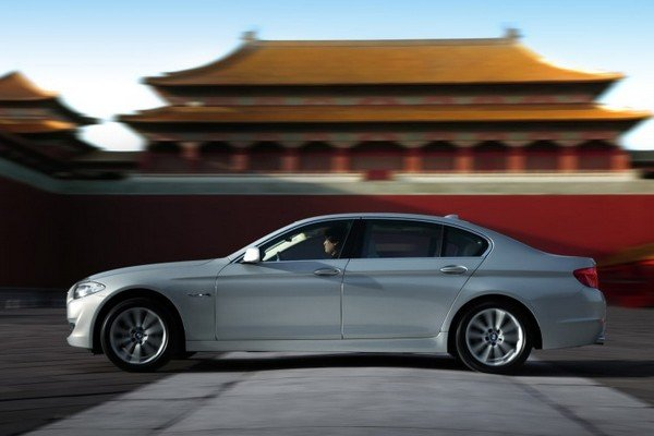 BMW cars in China