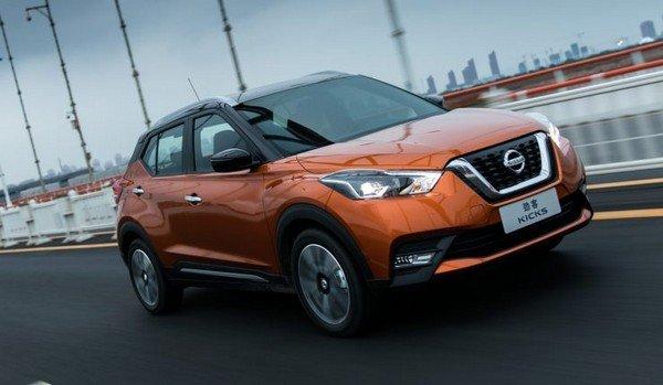 China-spec Nissan Kick, Front Angular Look