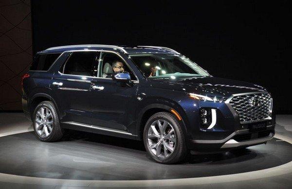 New Hyundai Palisade Suv Wrapped Off At 2018 La Motor Show