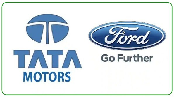 logo of Tata and Ford
