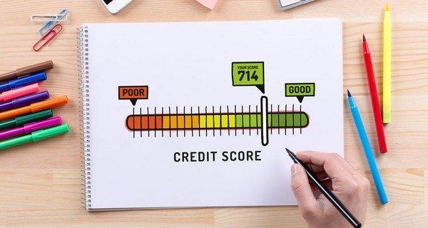 pen paper hand credit score