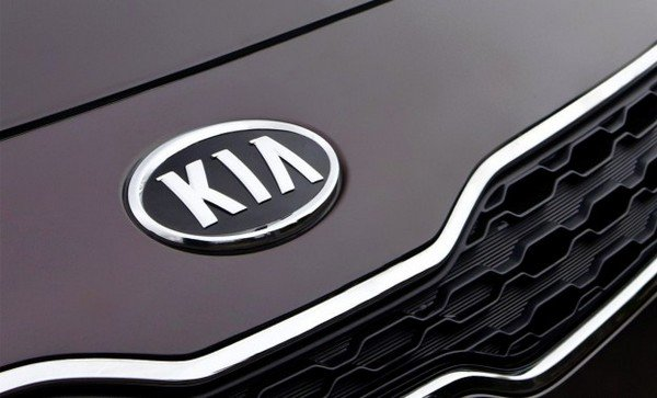 Kia badge black color