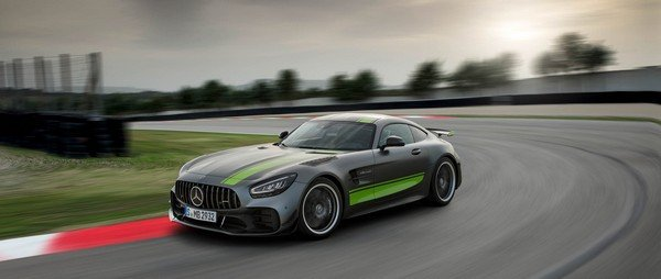 Mercedes AMG GT R Pro front look