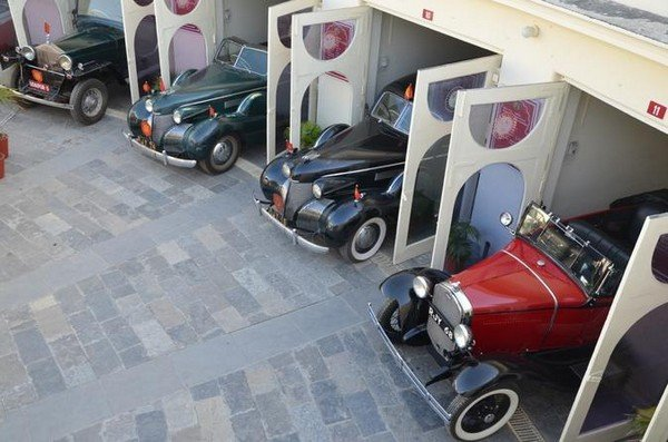 Classic and Vintage Car Collection of the Udaipur Palace