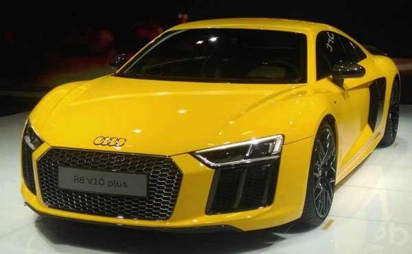 2016 Audi R8 V10 Plus, Yellow