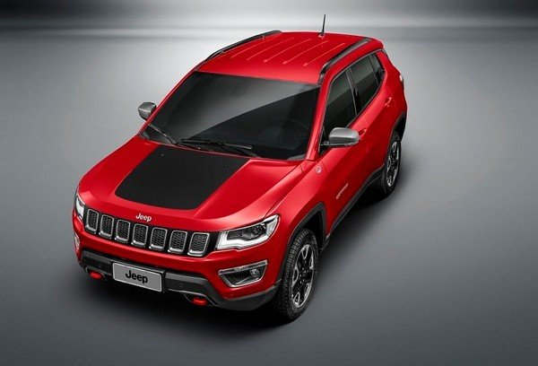 2019 Jeep Compass Trailhawk, Red Colour