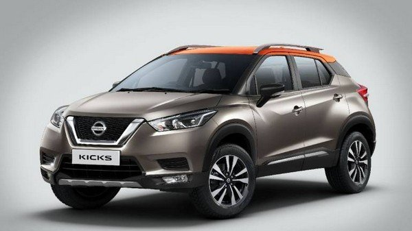 Nissan Kicks exterior front look