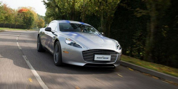 The British Aston Martin will introduce the Rapide E