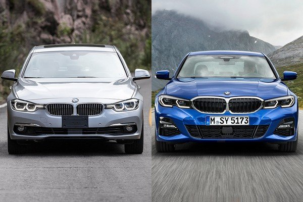 BMW 3 Series old vs. new