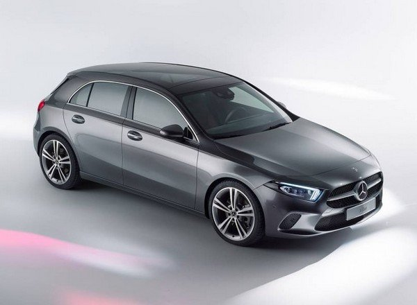 Mercedes-Benz A-Class, Black Colour, Front Right Side