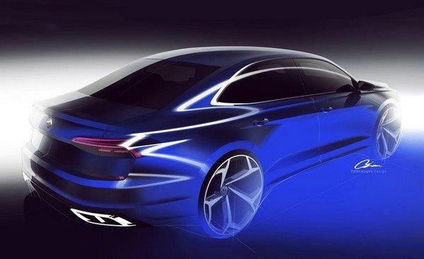 2020 Volkswagen Passat angular rear look