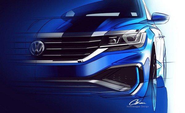 2020 Volkwagen Passat front