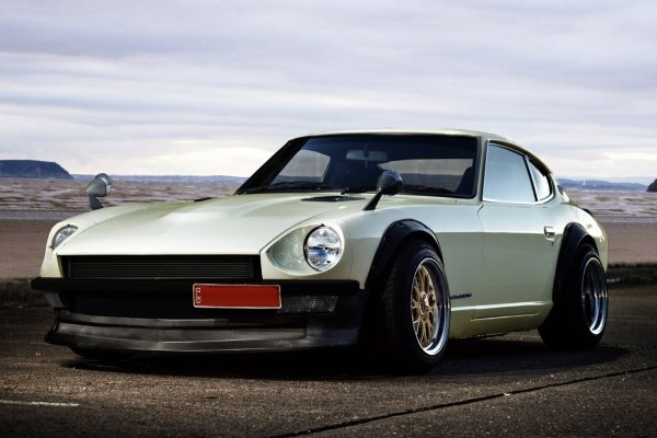 Sung Kang's Ford Maverick white left angular look
