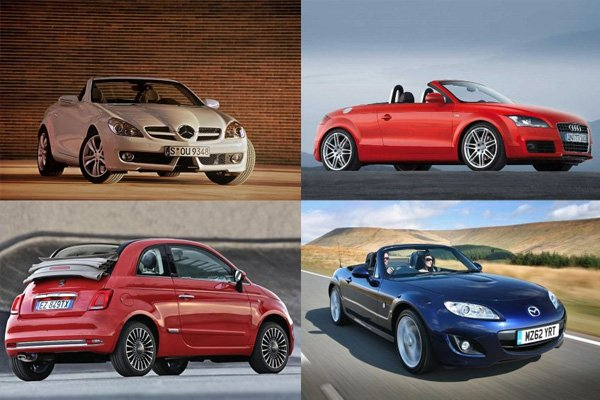 Large families won't likely find convertibles attractive