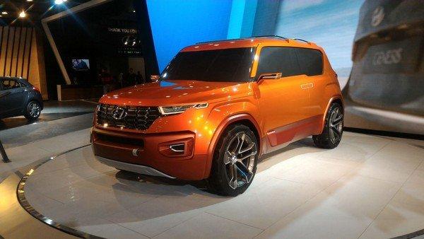 Hyundai Styx 2019 Hyundai Carlino Concept at Auto Expo 2016