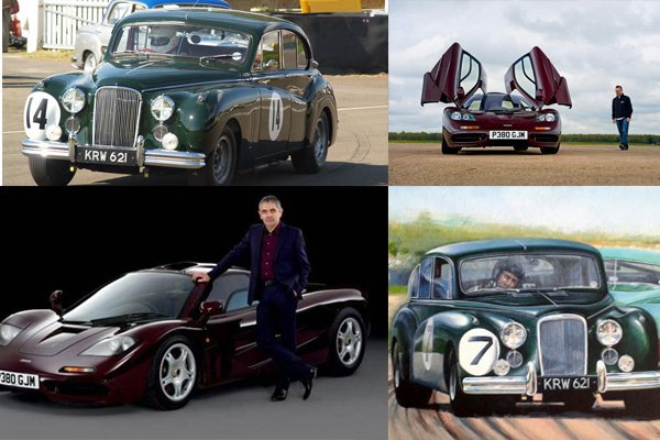 Mr Bean's Jaguar MK7 and Mclaren F1 were one of the most prominent cars in the late 1990s