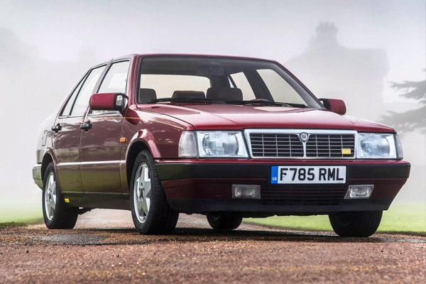 Mr Bean sold his Lancia Thema after having owned it for 7 years