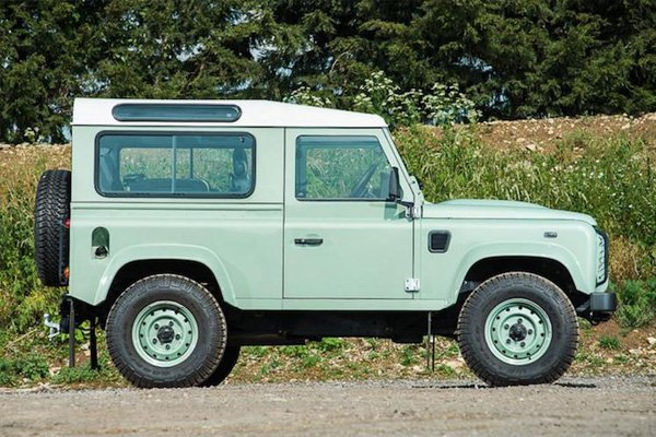 Mr Bean's Land Rover is a limited edition