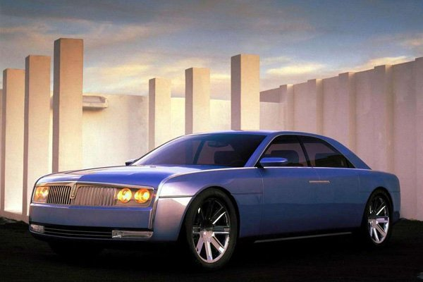 Like any other cool concept cars, Lincoln Continental 2002 could not be in showrooms