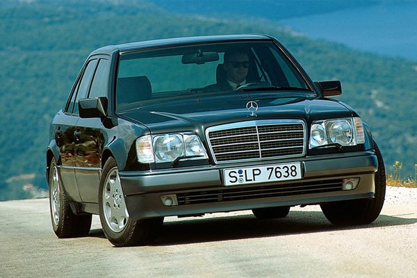 Rowan Atkinson's Mercedes-Benz 500e can cost you a fortune