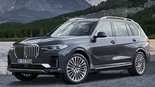 BMW X7, Front angular look