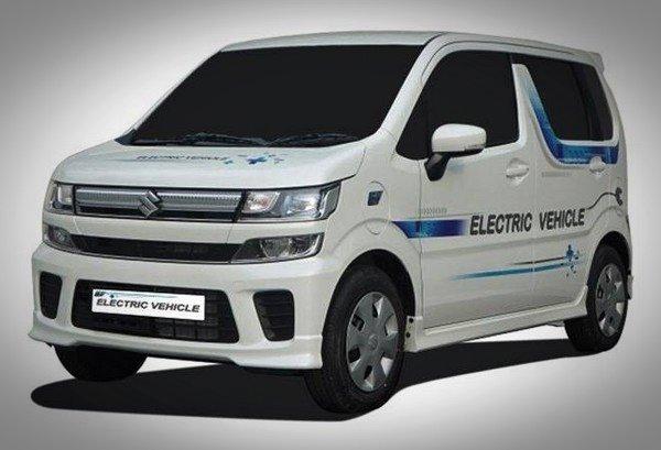 Maruti Suzuki WagonR white color front look