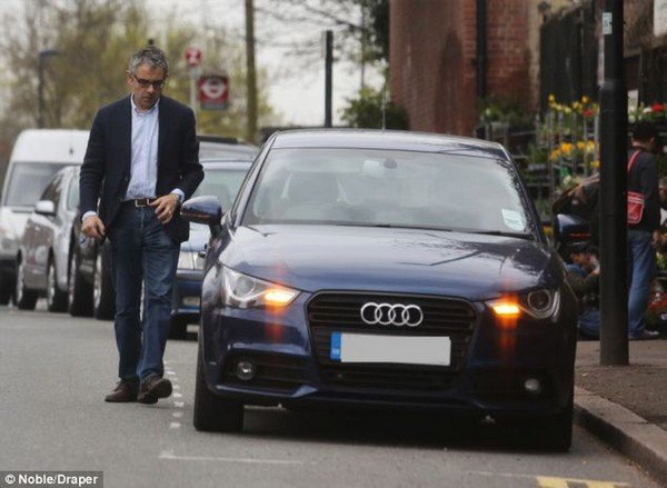 Audi A8 is the among the most affordable car found in Mr Bean' collection