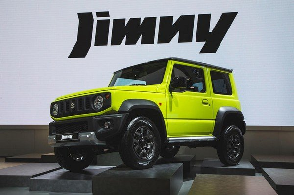 2019 Suzuki Jimny front look at show